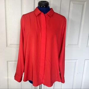 H&M Blouse red